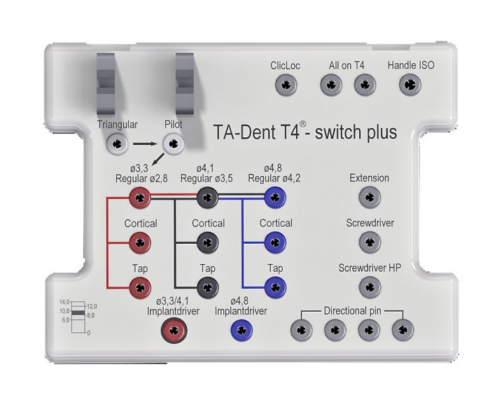 Chirurgie-Tray T4®-switch / plus Kunststoff