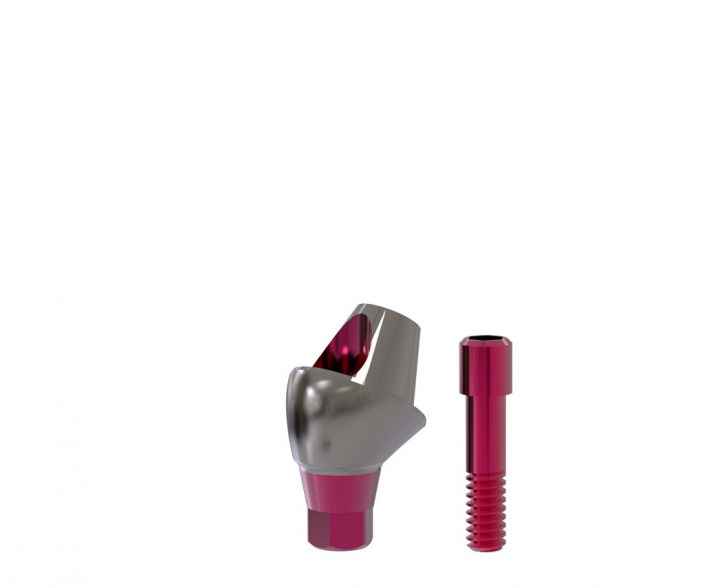 30°-Abutment All-on-T4®-switch / plus 3,3/4,1 (inkl. Implantat 4,8 x 6 mm) GH 1,5 mm inkl. Schraube