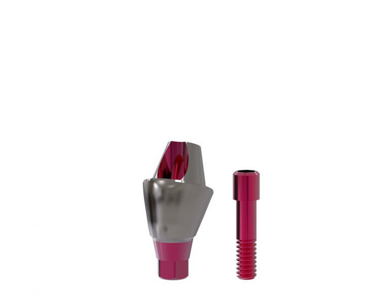 20°-Abutment All-on-T4®-switch / plus 3,3/4,1 (inkl. Implantat 4,8 x 6 mm) GH 3 mm inkl. Schraube