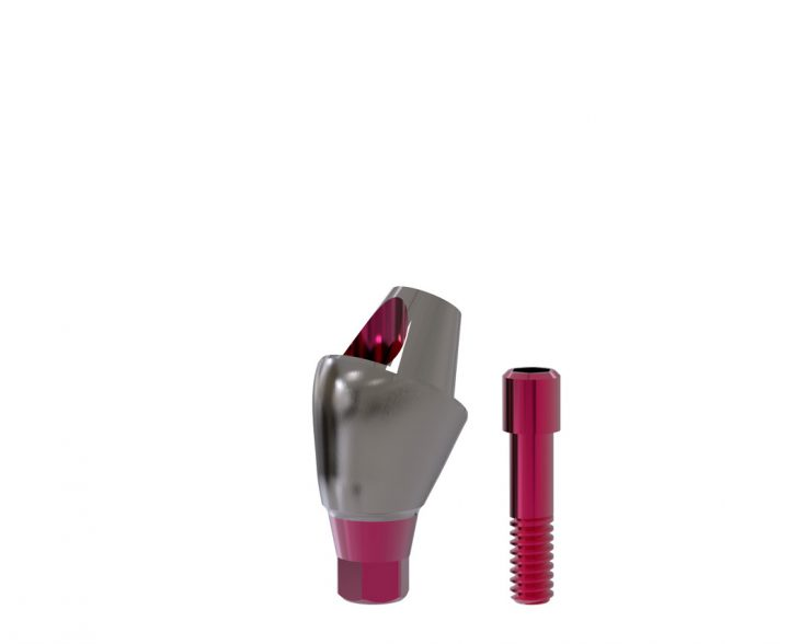 30°-Abutment All-on-T4®-switch / plus 3,3/4,1 (inkl. Implantat 4,8 x 6 mm) GH 3 mm inkl. Schraube